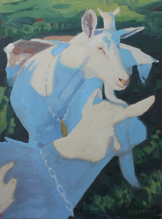 "Oil on Canvas 18""x24"""