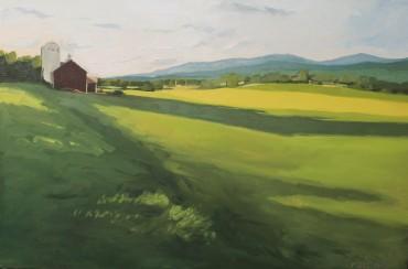 "Oil on Canvas 24""x36"""