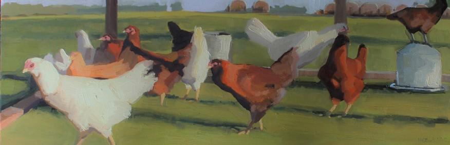 "Oil on Canvas 12""x36"""